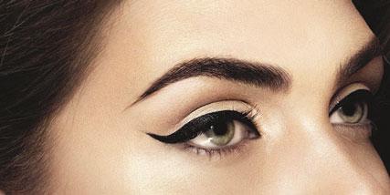 winged eyeliner at Bella Reina Spa