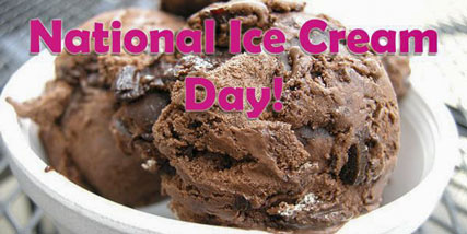 national ice cream day at Bella Reina Spa
