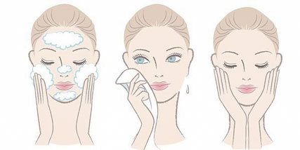 how to clean your face at Bella Reina Spa