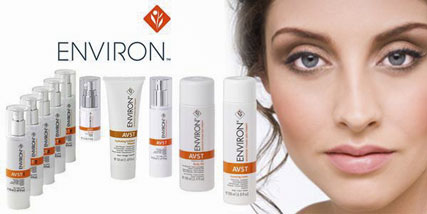 environ Skin Care working at Bella Reina Spa