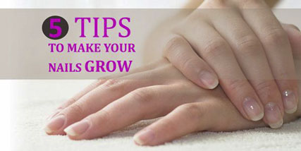 How to make your nails grow at Bella Reina Spa