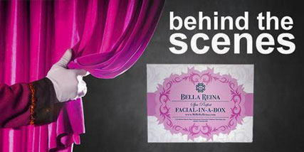 facial in a box at Bella Reina Spa