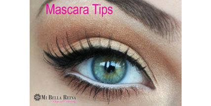 Mascara tips at Bella Reina Spa