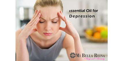 Essential oil for depression at Bella Reina Spa