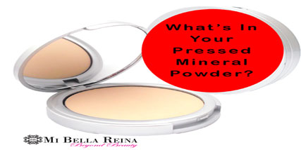 Pressed mineral powder at Bella Reina Spa