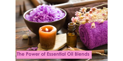 essential oil blends at Bella Reina Spa