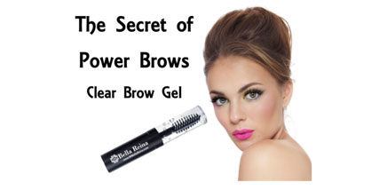 clear brow gel at Bella Reina Spa