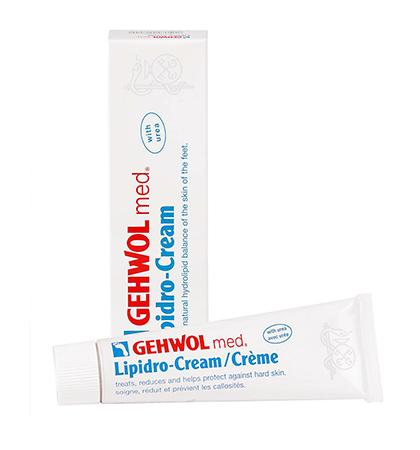 Gehwol Med Lipidro Foot Cream Softens Callused Skin (2.6oz)