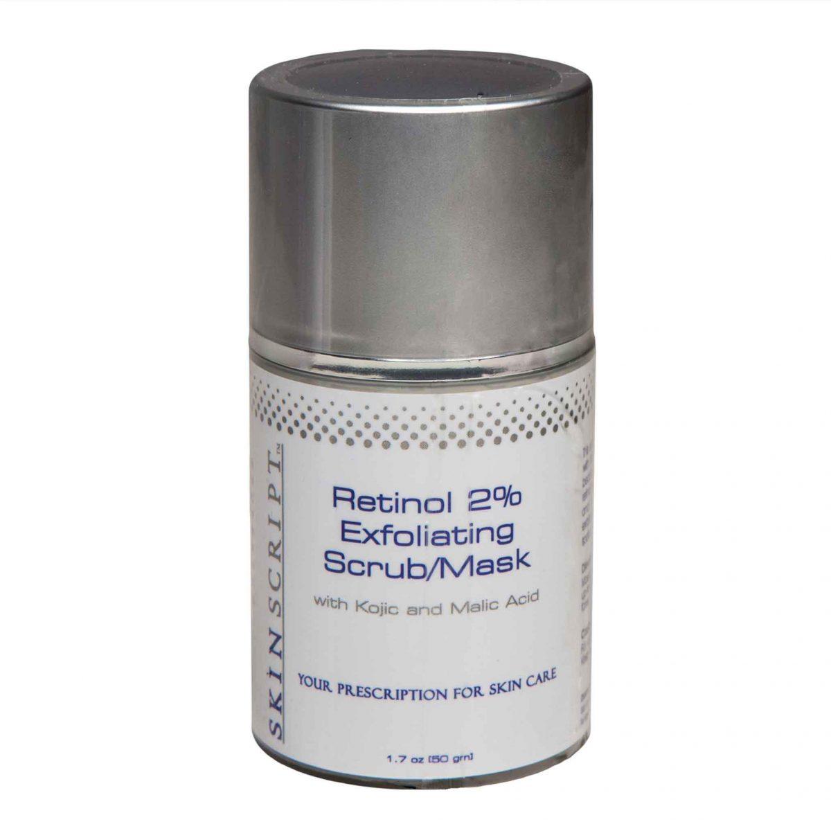 SKIN SCRIPT  Retinol 2% Exfoliating Scrub