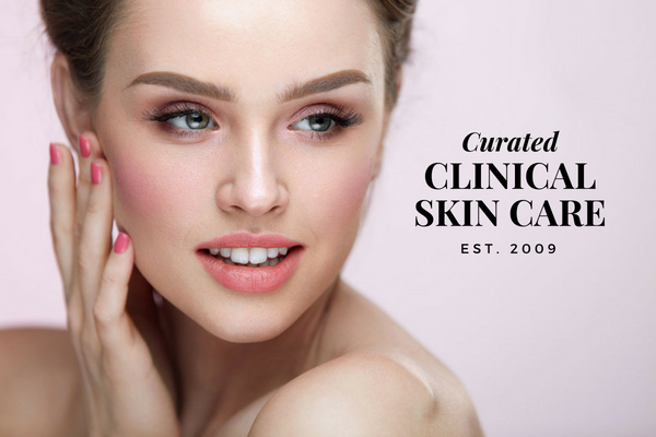 clinical skin care curated