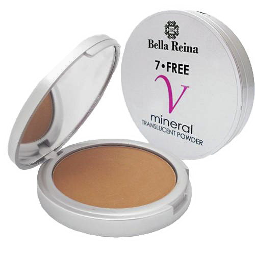 Bella Reina 7 Free Vegan Mineral Makeup Powder