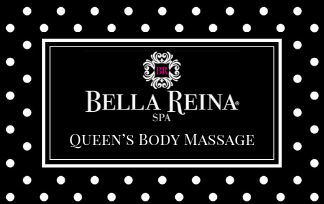 queens body massage gift card
